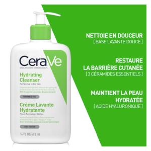 Cerave Crème Lavante Hydratante - 473 ml