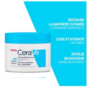 Cerave SA Crème Anti-rugosités - 340g