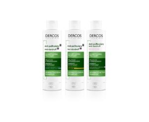 Vichy Dercos Shampooing traitant Antipelliculaire - Cheveux Normaux à Gras - 200 ml