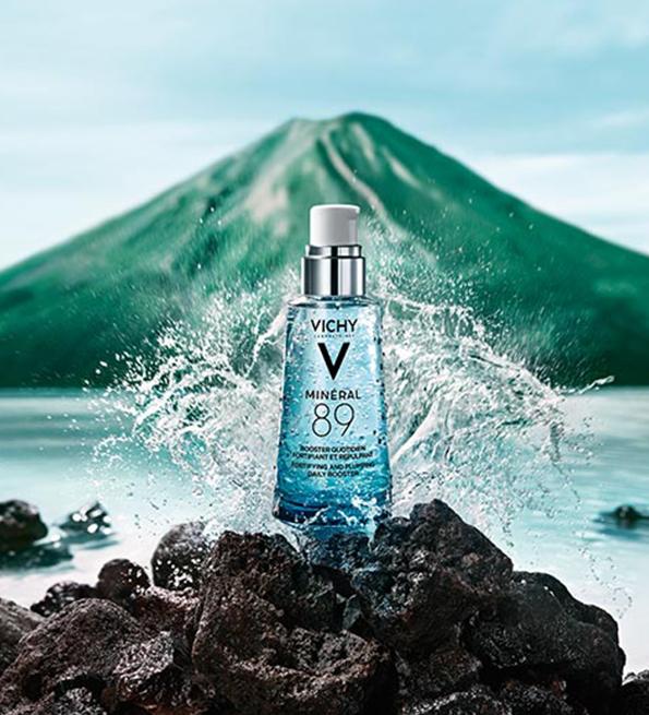 Vichy Minéral 89 Sérum Booster hydratant fortifiant et repulpant - 50 ml