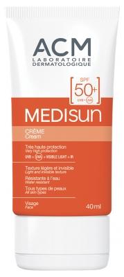 ACM MEDISUN CREME – SPF 50+ Crème solaire invisible 40 ml