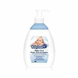 BABYHEART BABY 3 IN 1 shower bath and shampoo 250 ml