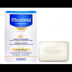 MUSTELA BEBE SAVON SURGRAS PAIN AU COLD-CREAM NUTRI-PROTECTEUR 100G