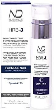 Nubiance Soin correcteur d'hyperpigmentation HRB3+ - Formule Nuit