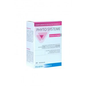 PHYTO SYSTEME CHEVEUX ET ONGLES 60GELULES