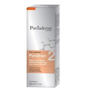 Puriaderm Puriphan Baume Démêlant Apres Shampooing Hommes - Femmes 200ml