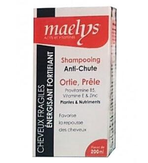 Maelys Shampooing Anti-Chute Ortie Prêle – 200 ml